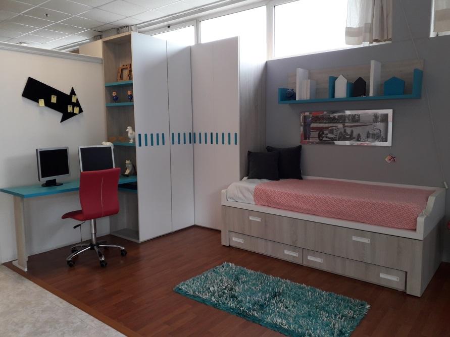 Dormitorios juveniles OUTLET Argare